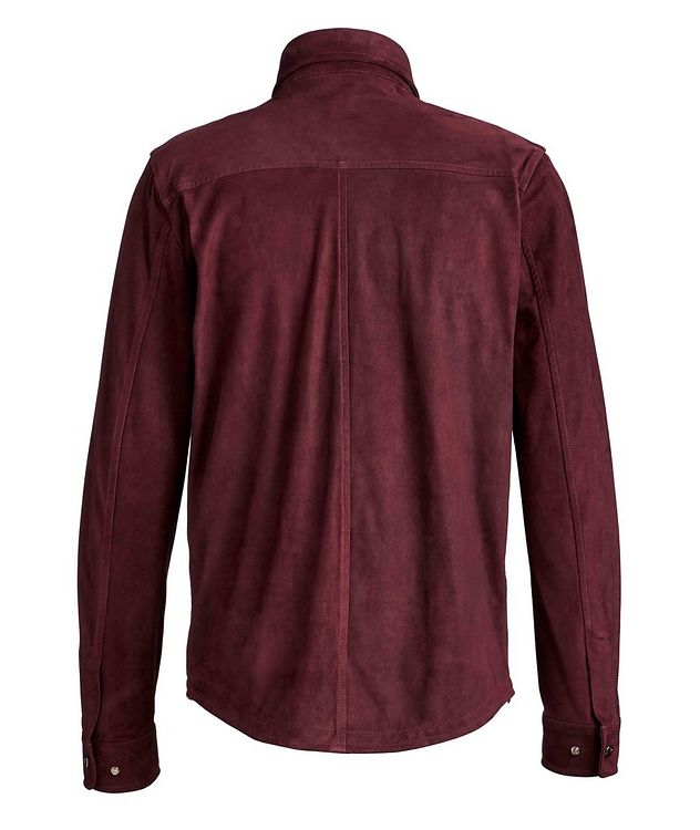 Suede Shirt Jacket picture 2