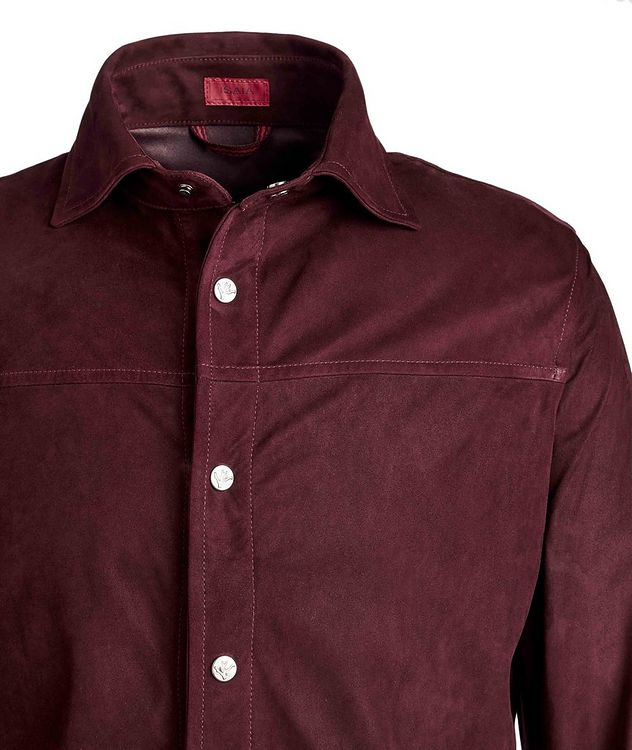 Suede Shirt Jacket picture 3