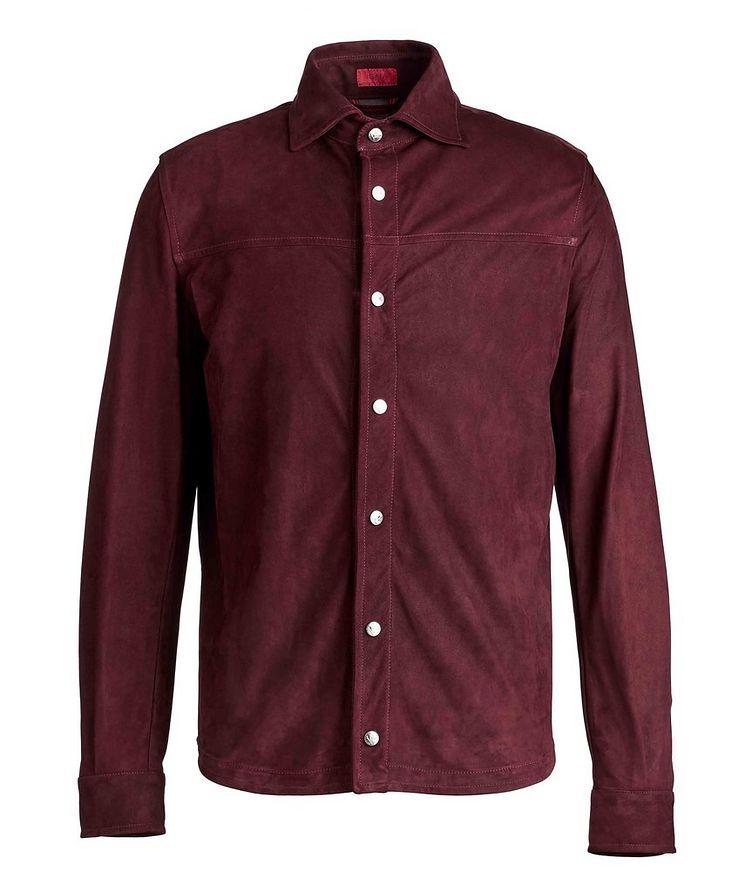 Suede Shirt Jacket image 0