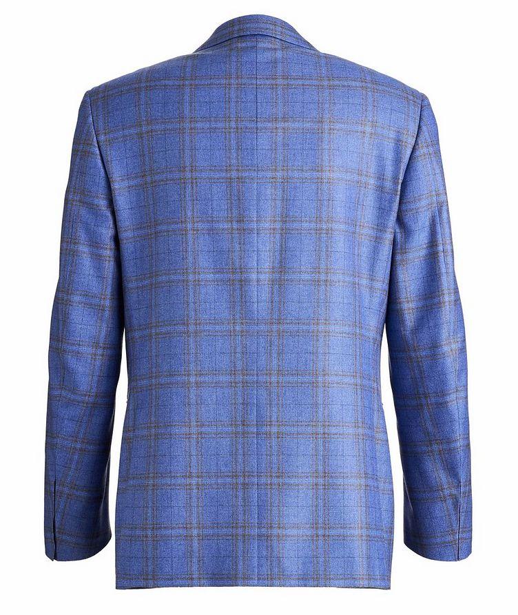 Checked Silk-Cashmere Sport Jacket image 1