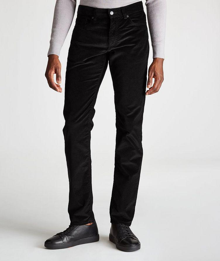 Straight-Fit Corduroy Pants image 0