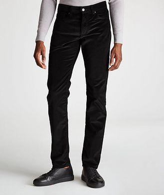 Ermenegildo Zegna Straight-Fit Corduroy Pants