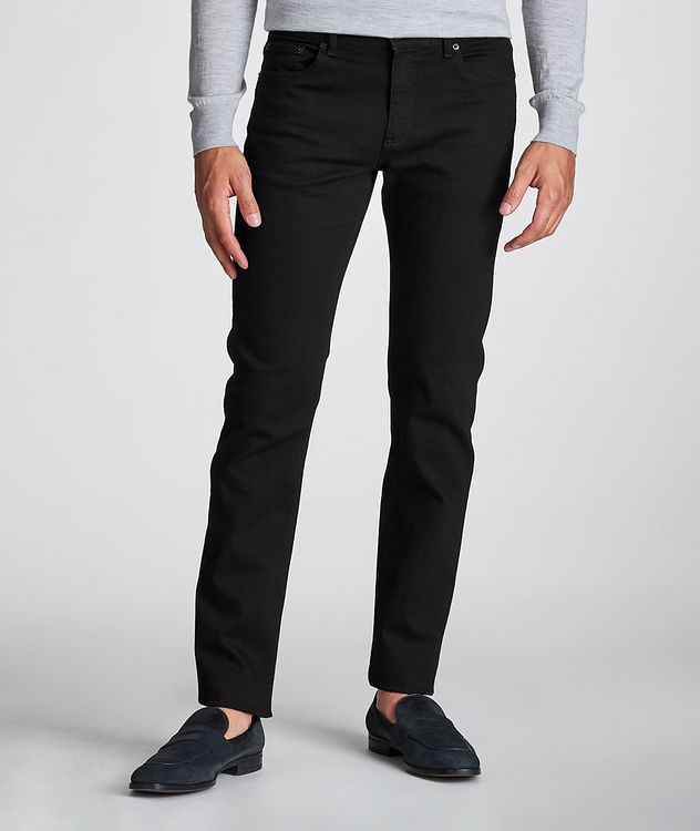Tailored Fit Straight Leg Jeans picture 2