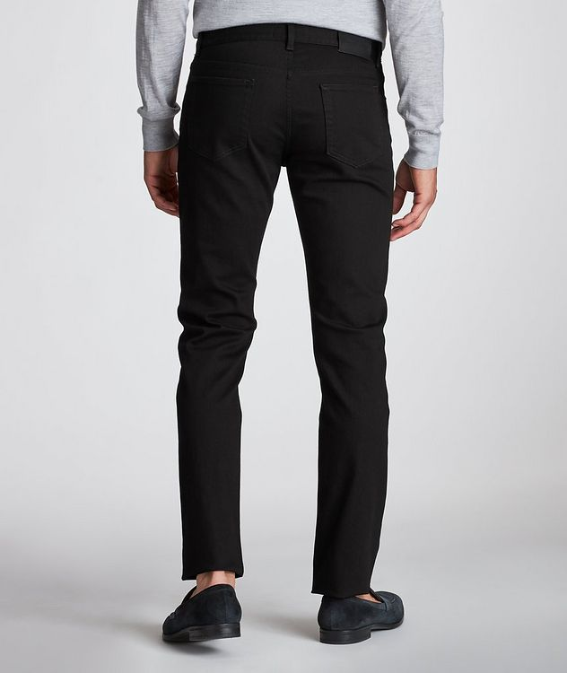 Tailored Fit Straight Leg Jeans picture 3