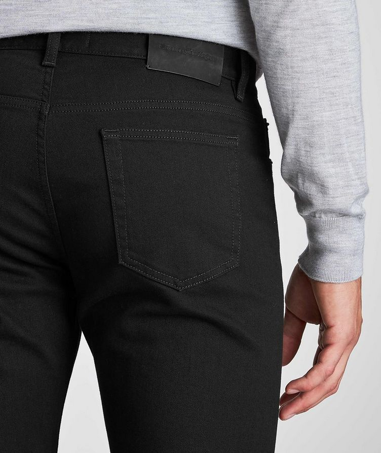 Tailored Fit Straight Leg Jeans image 3