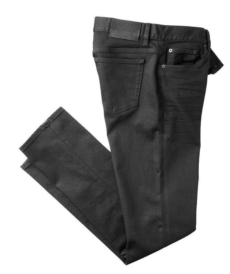Tailored Fit Straight Leg Jeans image 0