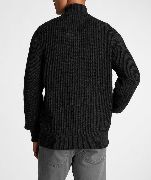 Fisherman's Knit Cashmere Cardigan picture 3