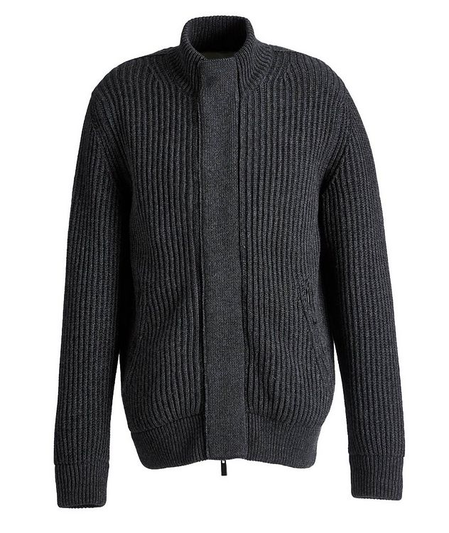 Fisherman's Knit Cashmere Cardigan picture 1