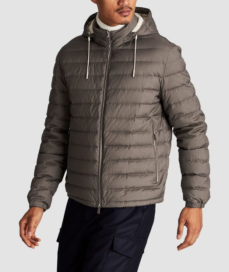 Wool-Cashmere Down Jacket image 1