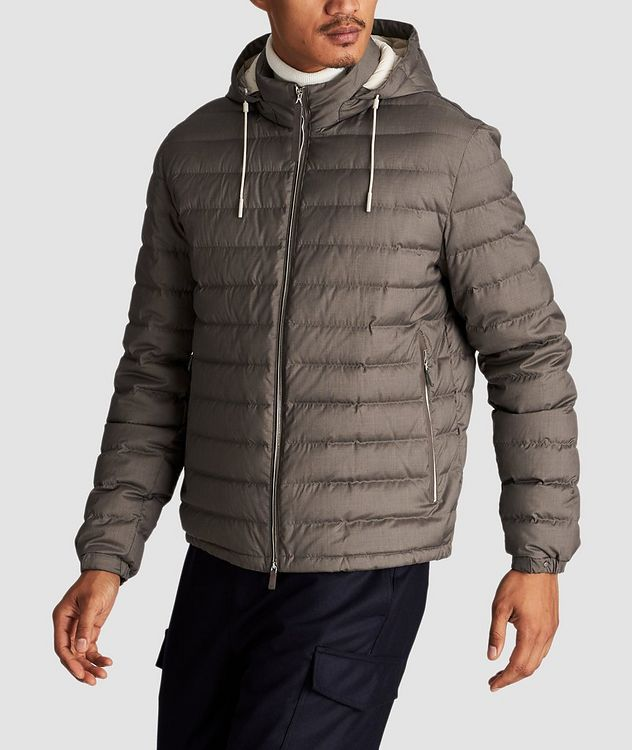 Wool-Cashmere Down Jacket picture 2