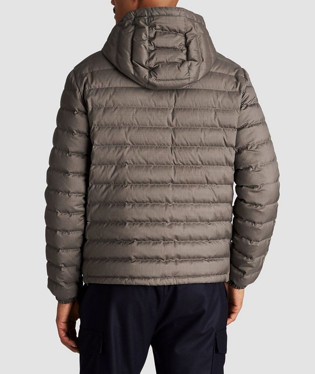 Wool-Cashmere Down Jacket picture 3