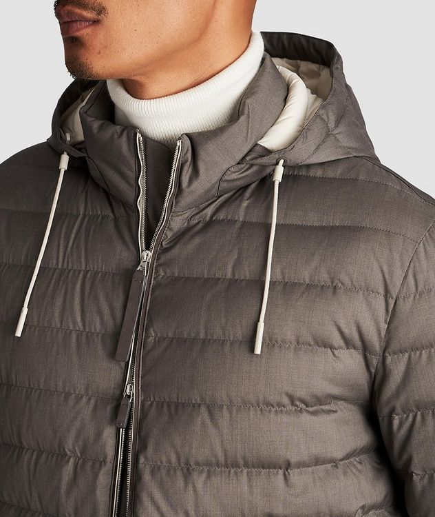 Wool-Cashmere Down Jacket picture 4