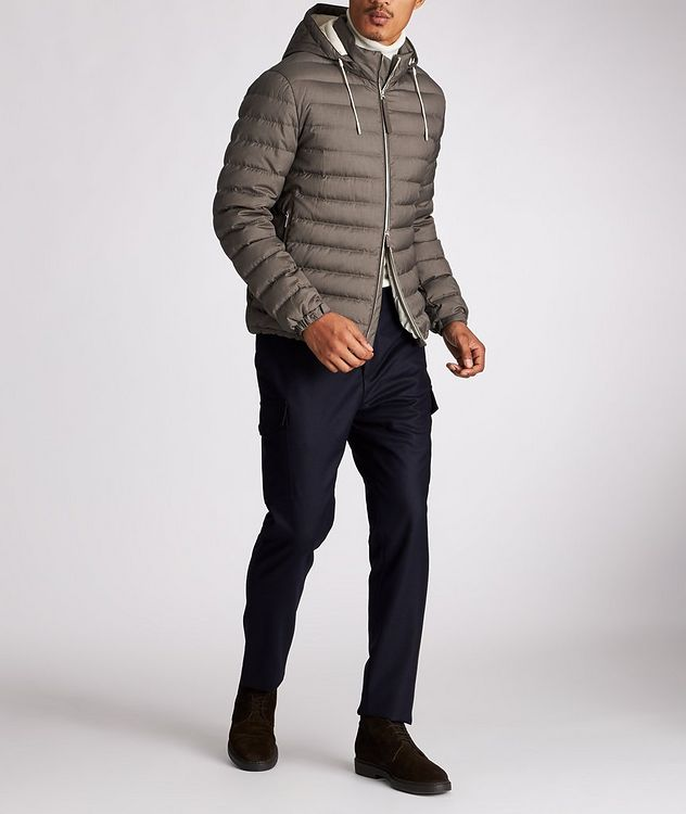 Wool-Cashmere Down Jacket picture 5