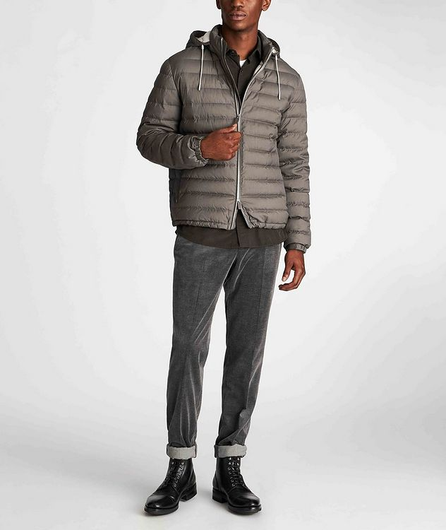 Wool-Cashmere Down Jacket picture 6