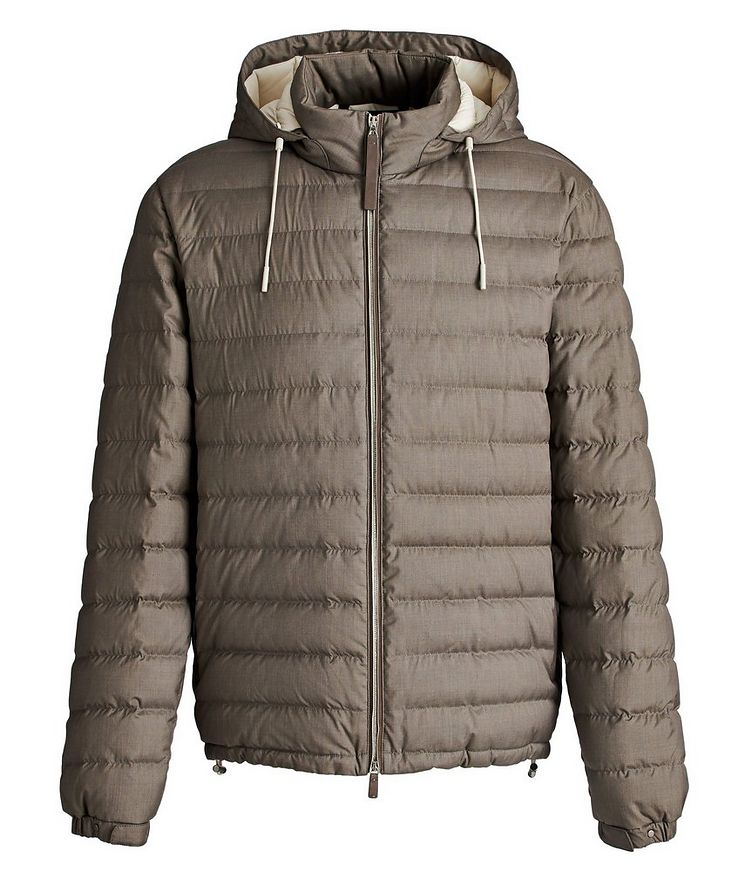 Wool-Cashmere Down Jacket image 0