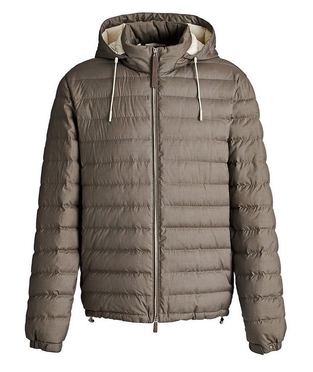 Wool-Cashmere Down Jacket picture 1