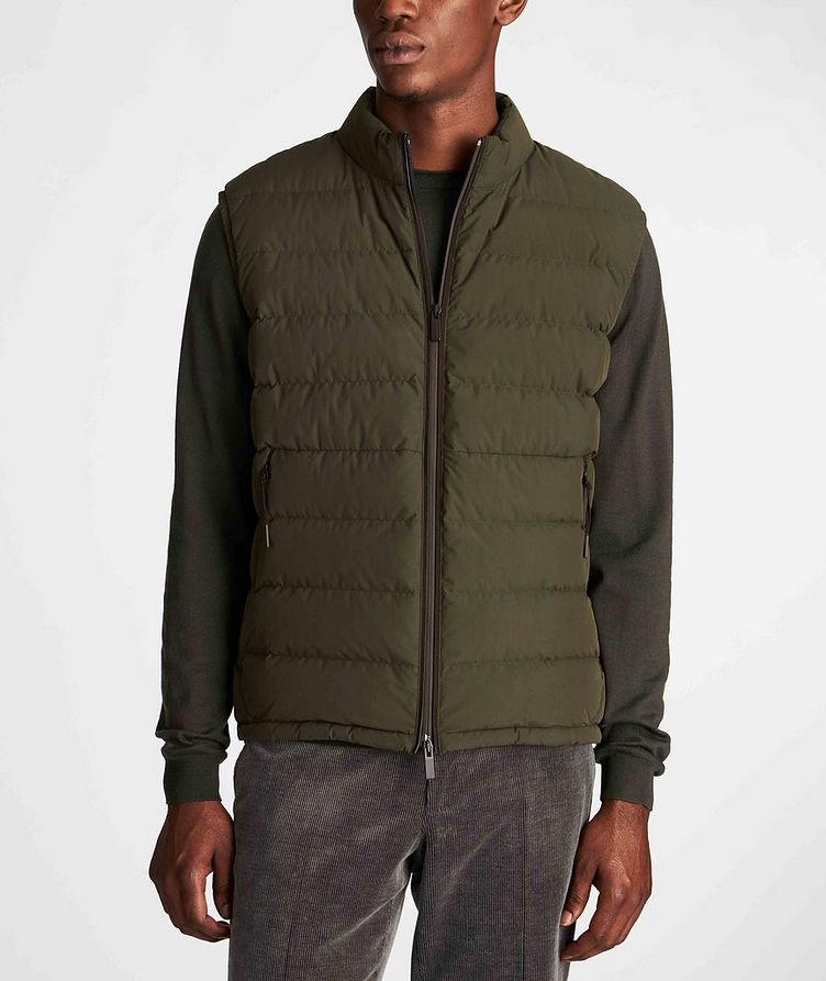 Water-Repellent Down Vest image 1