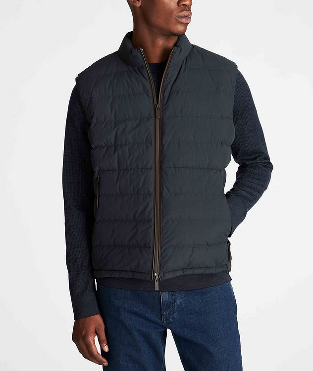 Water-Repellent Down Vest picture 2