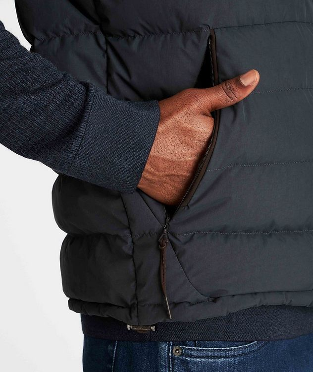 Water-Repellent Down Vest picture 5