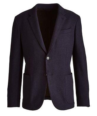 Ermenegildo Zegna Jerseywear Cashmere-Silk Sports Jacket