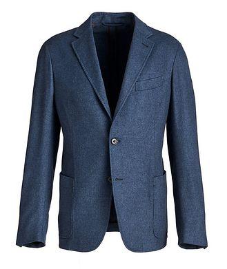 Ermenegildo Zegna Unstructured Silk-Cashmere Sports Jacket