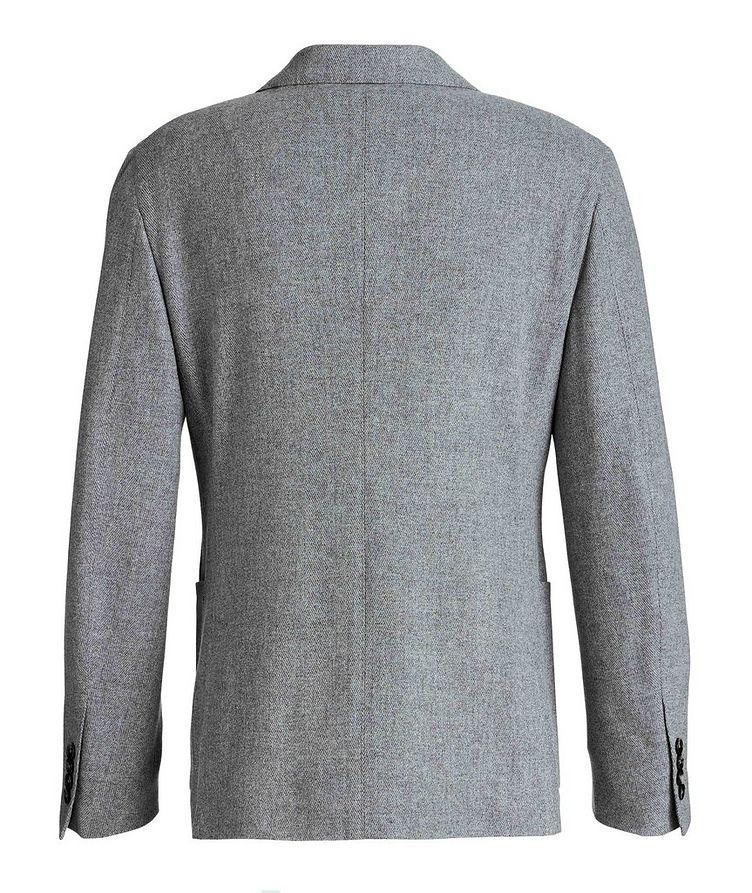 Herringbone Wool-Cashmere Sports Jacket image 1