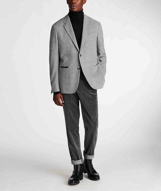 Herringbone Wool-Cashmere Sports Jacket picture 6