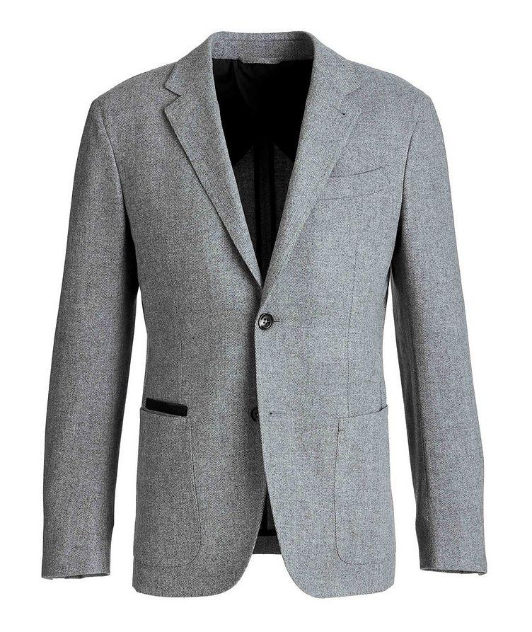 Herringbone Wool-Cashmere Sports Jacket image 0
