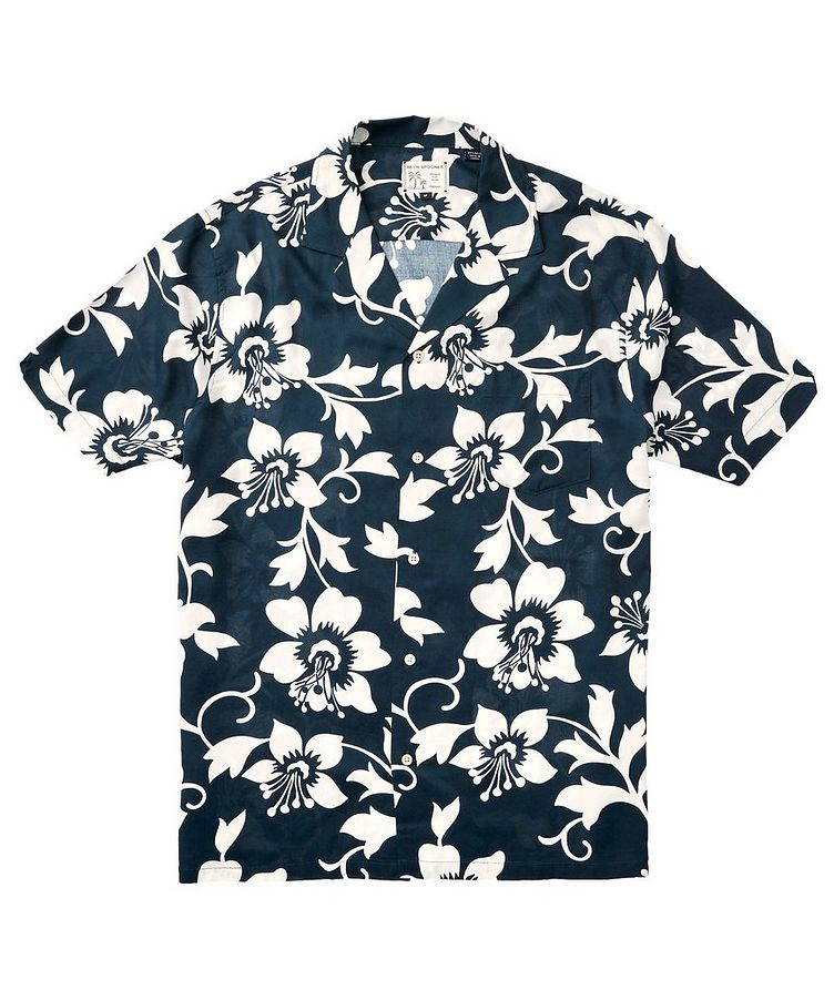 Short-Sleeve Tropical-Printed Shirt image 1