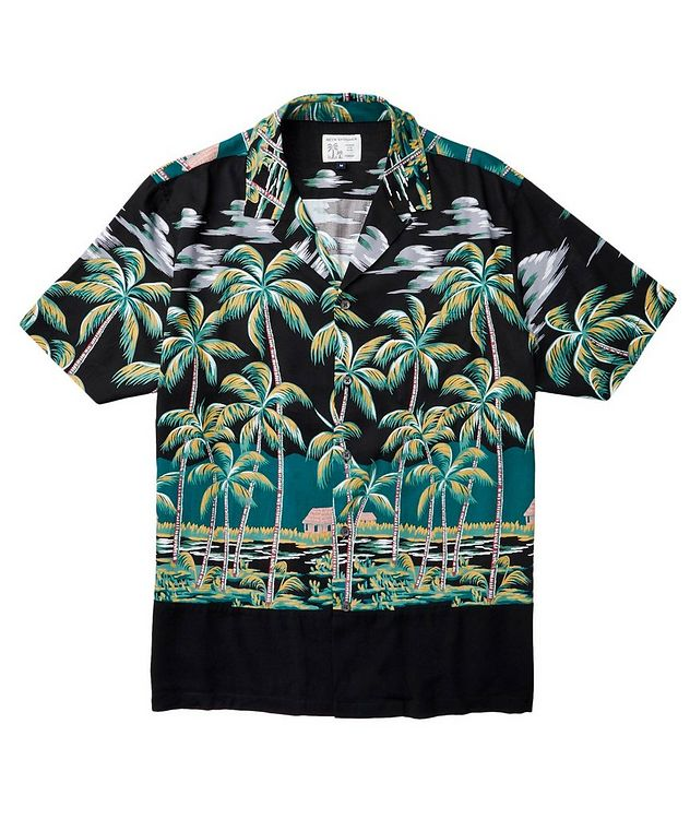 Short-Sleeve Tropical-Printed Shirt picture 2
