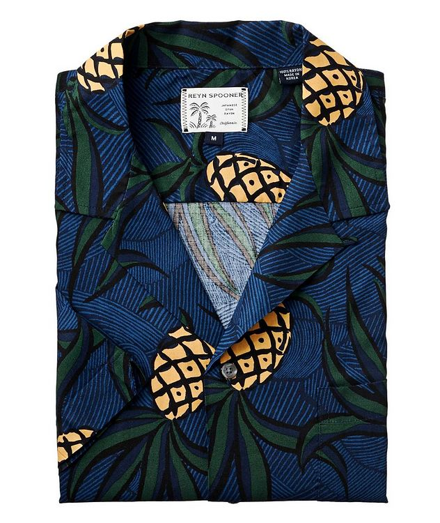 Short-Sleeve Tropical-Printed Shirt picture 1