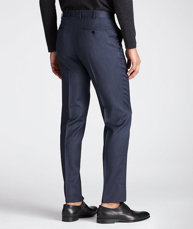 Slim Fit Wool-Silk Dress Pants picture 3