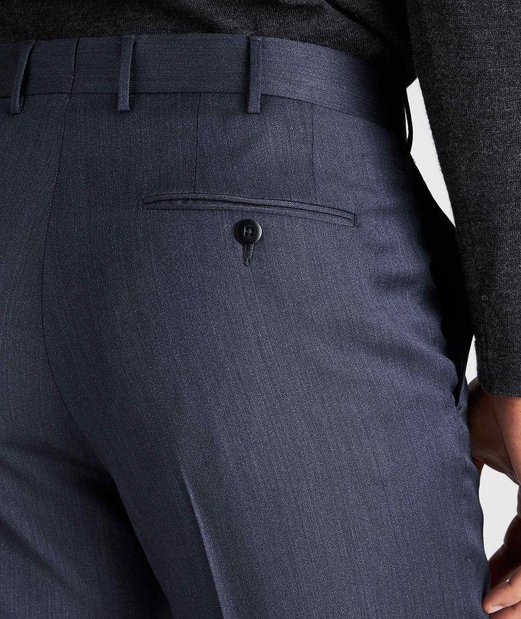 Slim Fit Wool-Silk Dress Pants image 3