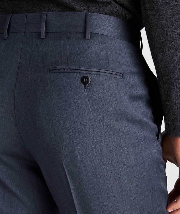Slim Fit Wool-Silk Dress Pants picture 4