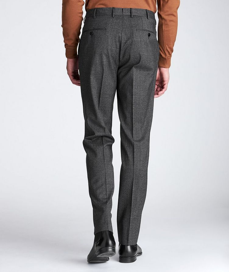 Slim Fit Stretch-Wool Dress Pants image 2