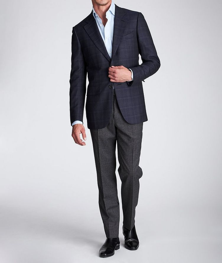 Slim Fit Stretch-Wool Dress Pants image 5