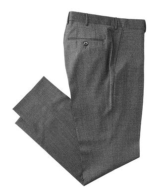 Ermenegildo Zegna Slim Fit Stretch-Wool Dress Pants