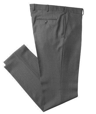 Ermenegildo Zegna Slim Fit Wool Dress Pants