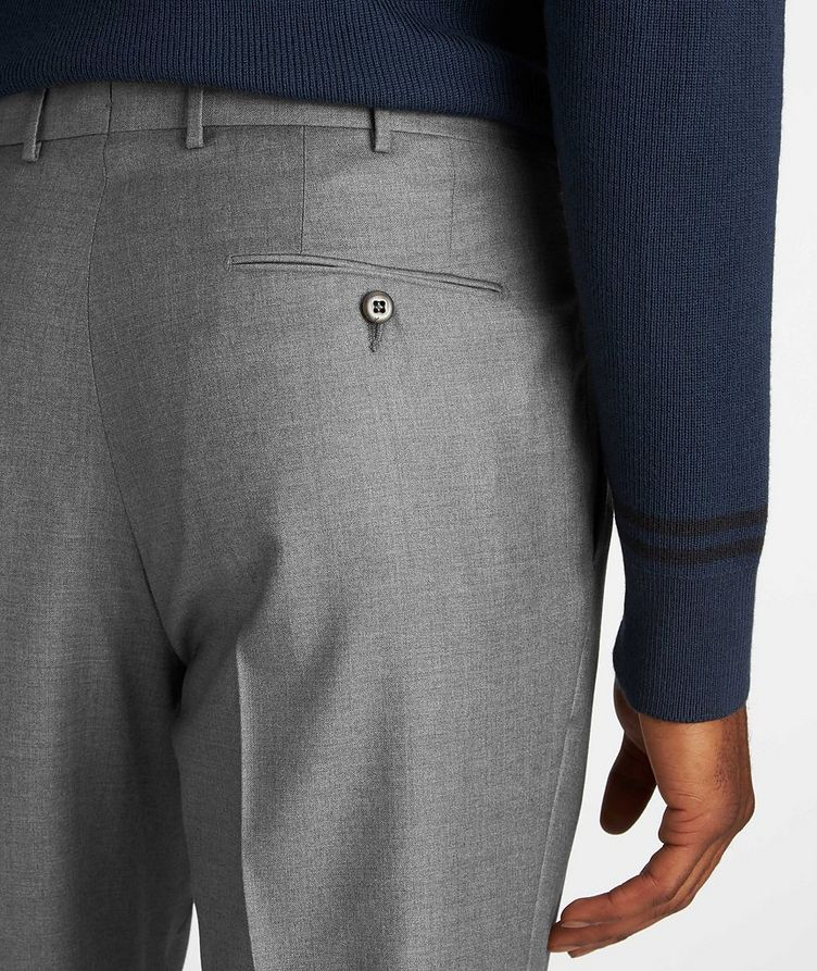 Slim Fit Wool Dress Pants image 3