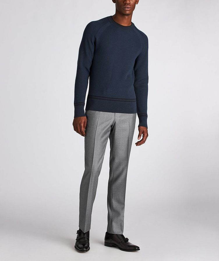 Slim Fit Wool Dress Pants image 4
