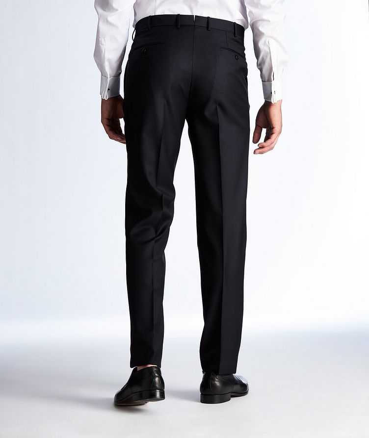 Slim Fit Wool Dress Pants image 1