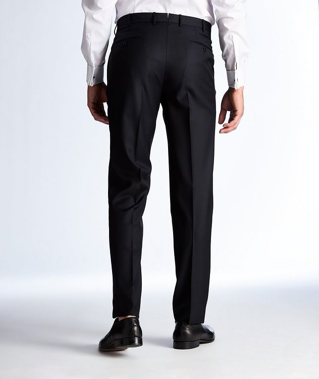 Slim Fit Wool Dress Pants picture 2
