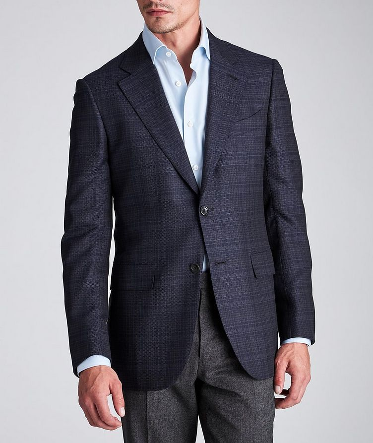Couture Checked Wool Sports Jacket image 1