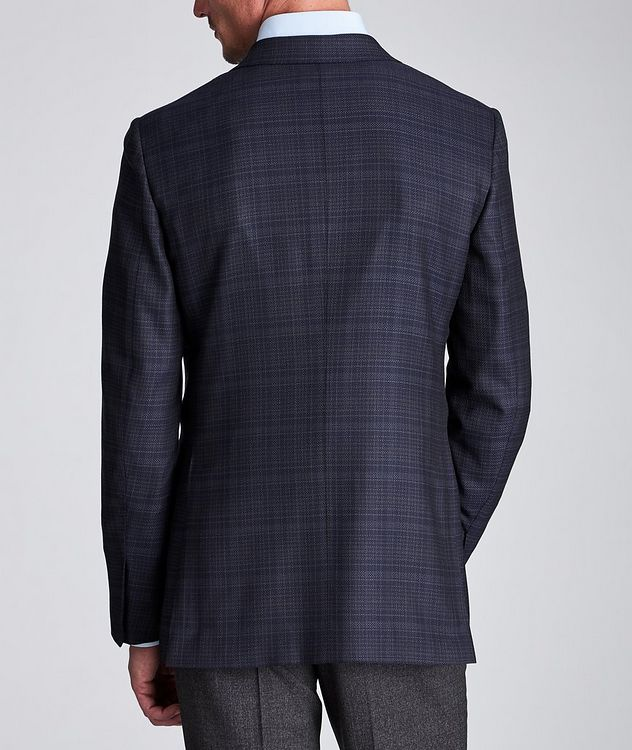 Couture Checked Wool Sports Jacket picture 3