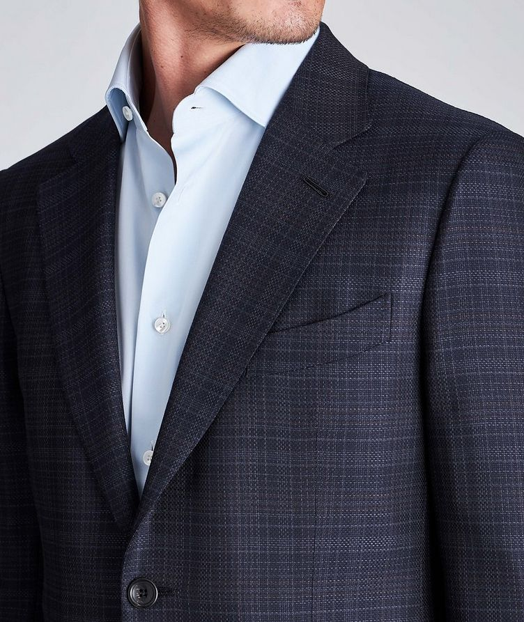 Couture Checked Wool Sports Jacket image 3