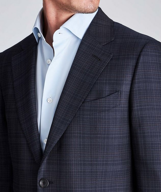 Couture Checked Wool Sports Jacket picture 4