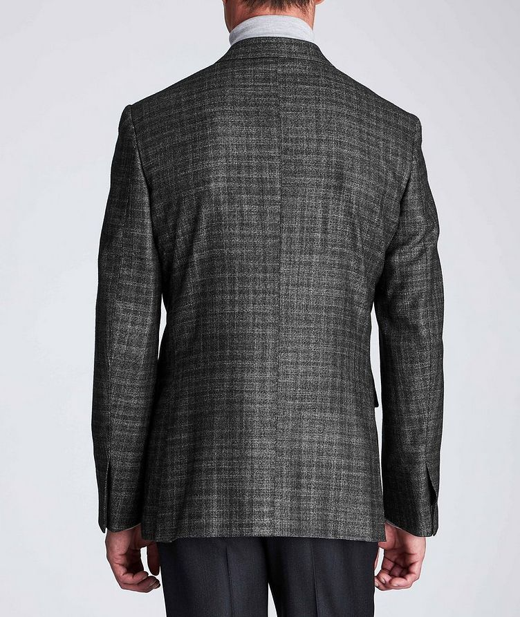 Couture Checked Cashmere-Silk Sports Jacket image 2