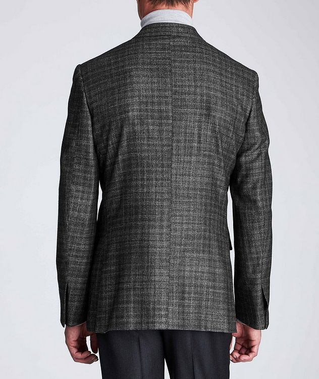 Couture Checked Cashmere-Silk Sports Jacket picture 3