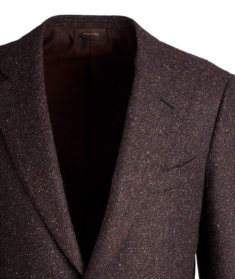 Couture Wool, Alpaca, and Silk Sports Jacket image 1