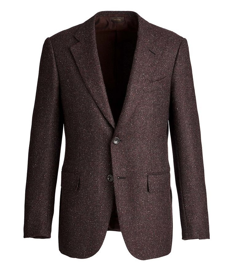 Couture Wool, Alpaca, and Silk Sports Jacket image 0